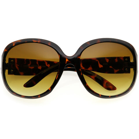Oversized Neutral Colored Lens Oversize Sunglasses 61mm