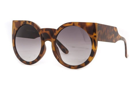 Round Kitty Cat Eye Sunglasses