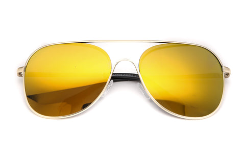 New Age Frame Aviator Sunglasses