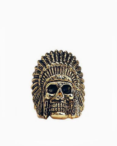 Indian Chief Ring (Gold)