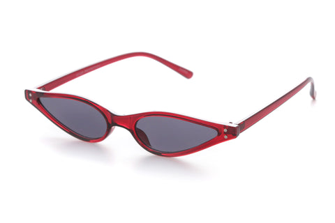 Jessie Extreme Slim Cat Eye Sunglasses