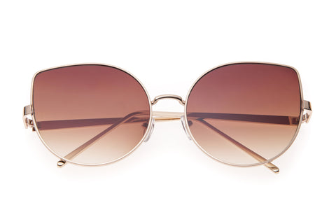 Cross My Heart Rounded Sunglasses