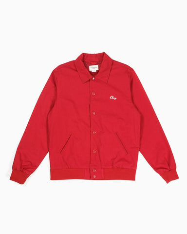 Men's Collegiate Jacket (Red)