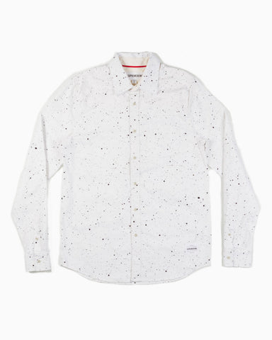 Men's Frak L/S Button Up Shirt (Splatter)