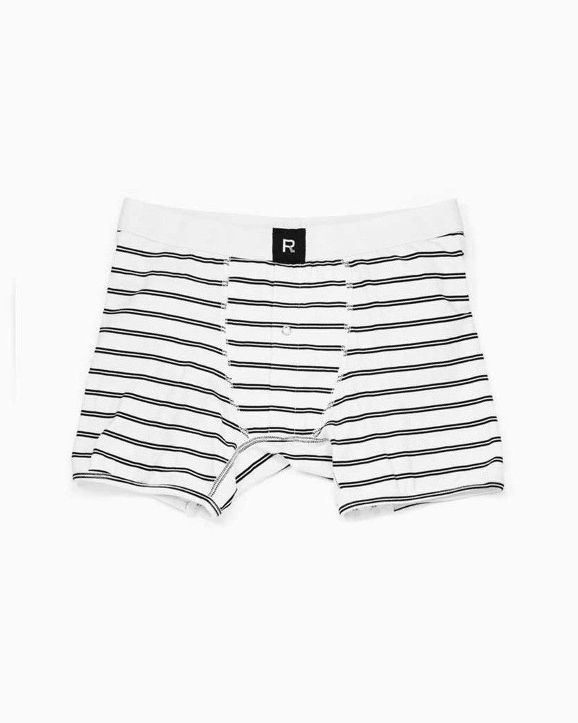 Men's PO Boy Boxer Brief (White)