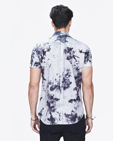 Men's Seven FT S/S Shirt (Indigo Tye Dye)