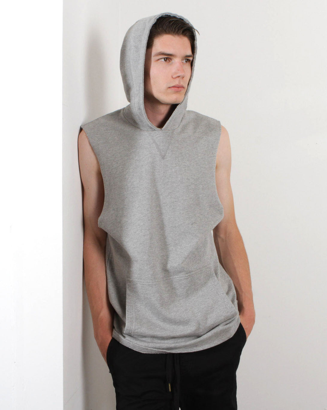 Men's Uppercut Sweat (Light Grey Marle)