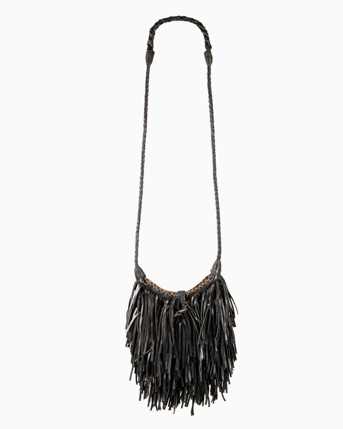 Poppy Fringe Leather Bag