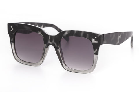 Spencer Modern Square Frame Sunglasses