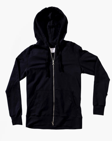 Runway Double Zip Hoody