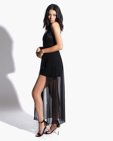 Women's Diamond Dress (Black)
