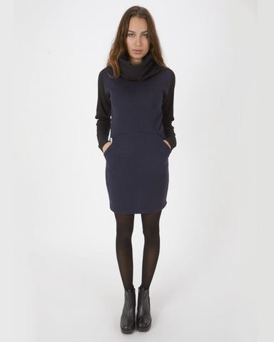 Women's Divine Knit Dress (Navy)