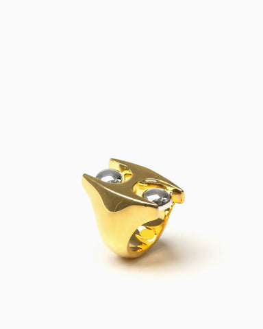 Women's H Ring (Gold/Silver)