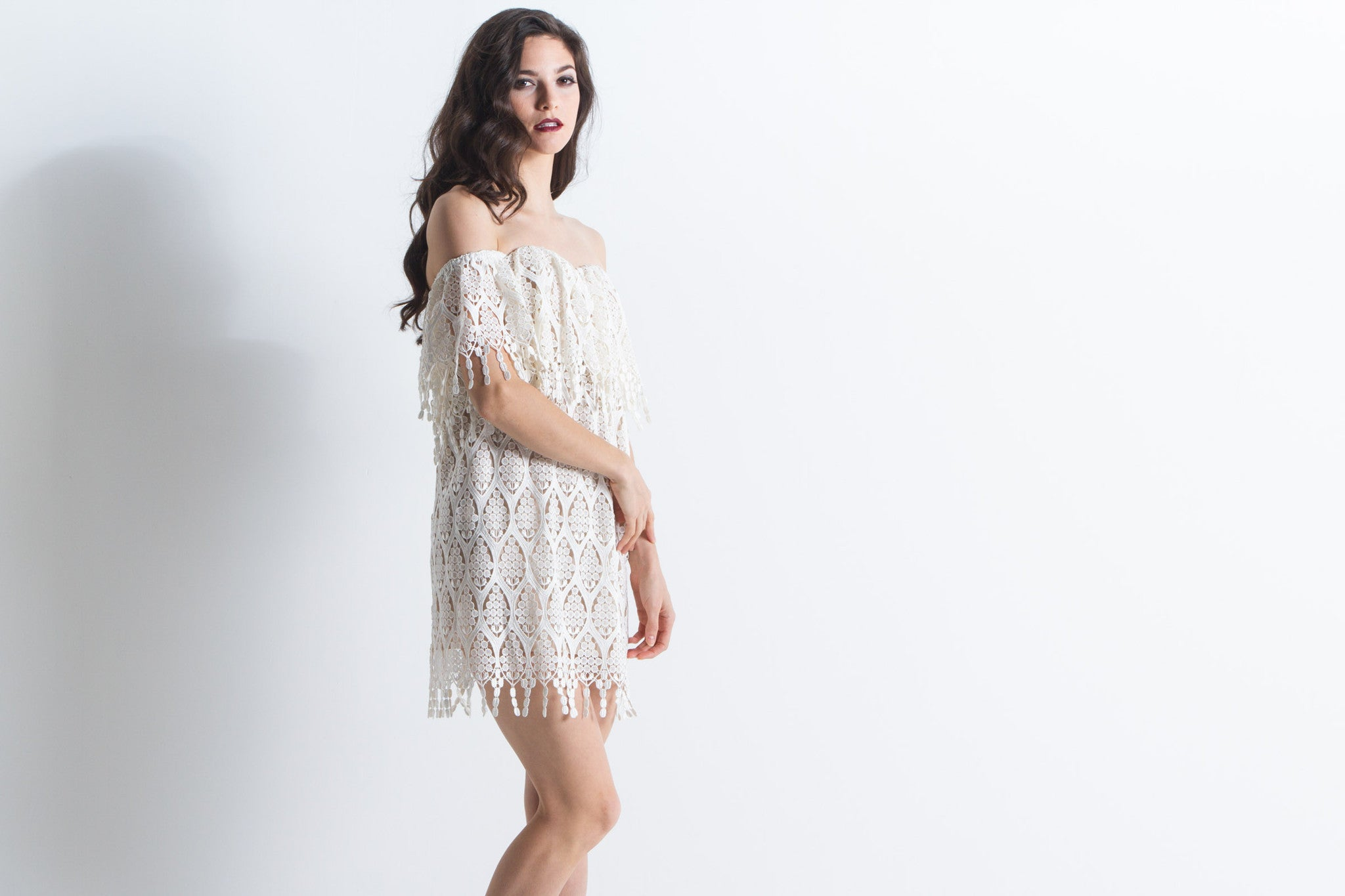 Women's Iowa Dress (Ivory)