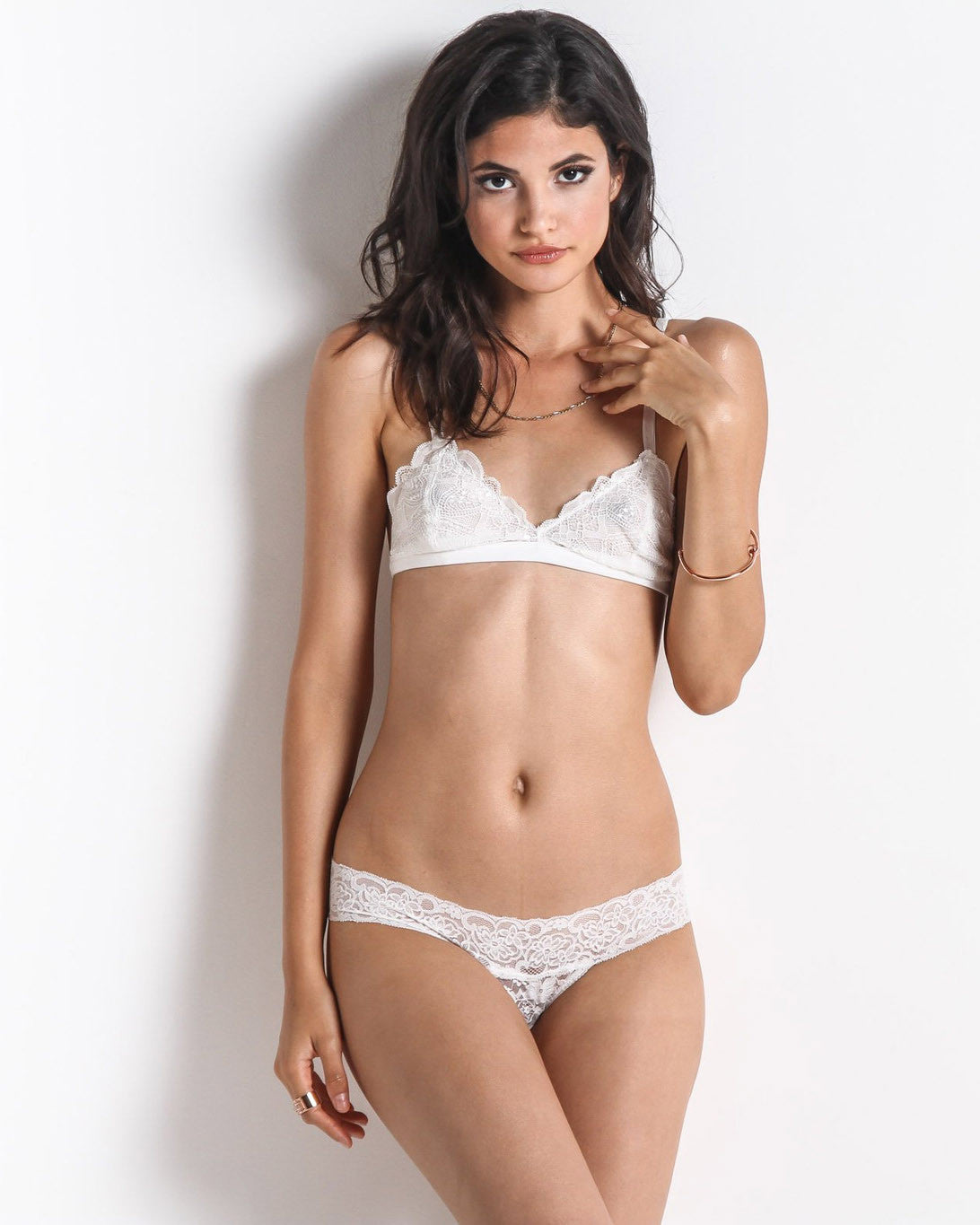 Women's Lady Lovelace Panty (White)