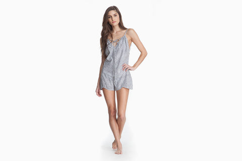 Women's Luca Mini Romper (Rocks)