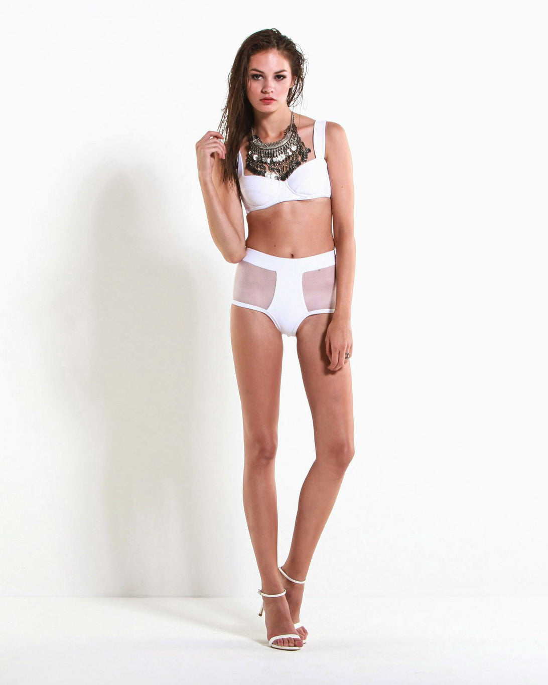Women's The Eastwood Bikini (Virgin White)