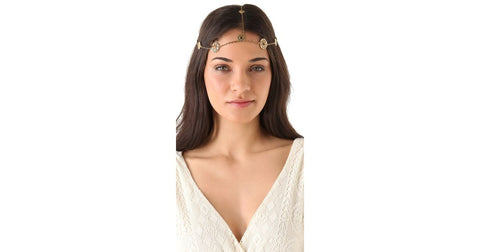 House of Harlow - Coin Head Piece (Gold)