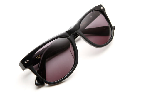 The Village Sunglasses (Gloss Black/Matte Black Grey)