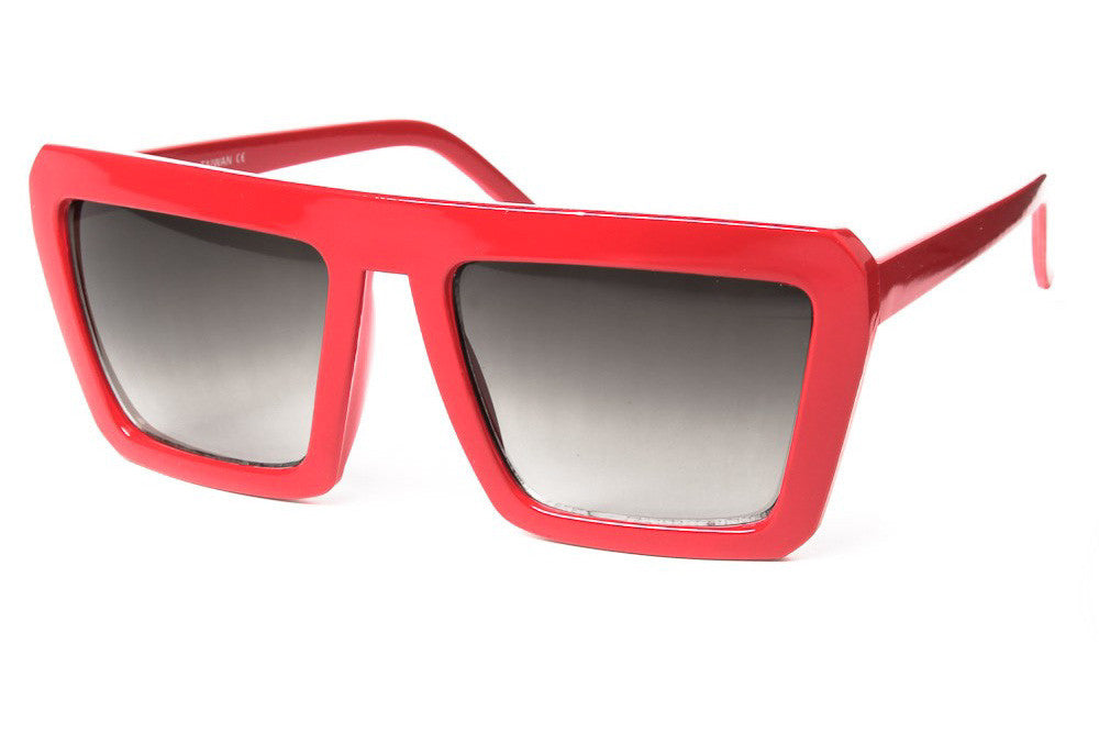 Blaster Retro Plastic Colored Sunglasses