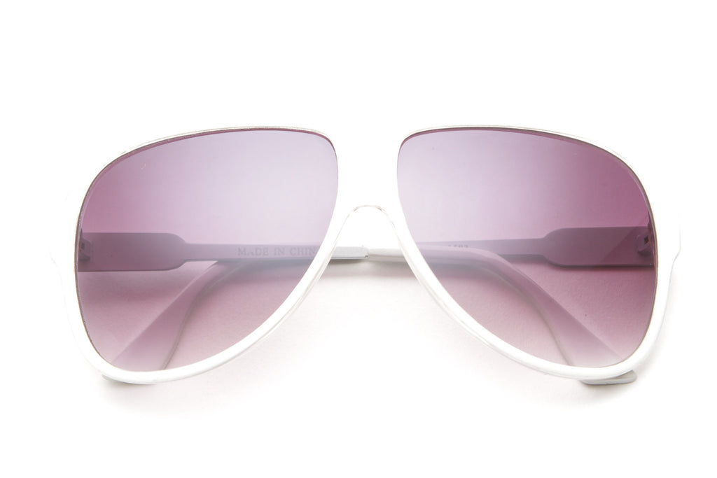 cd9755b8fc3 Avid Large Aviator Sunglasses – 80 s Purple