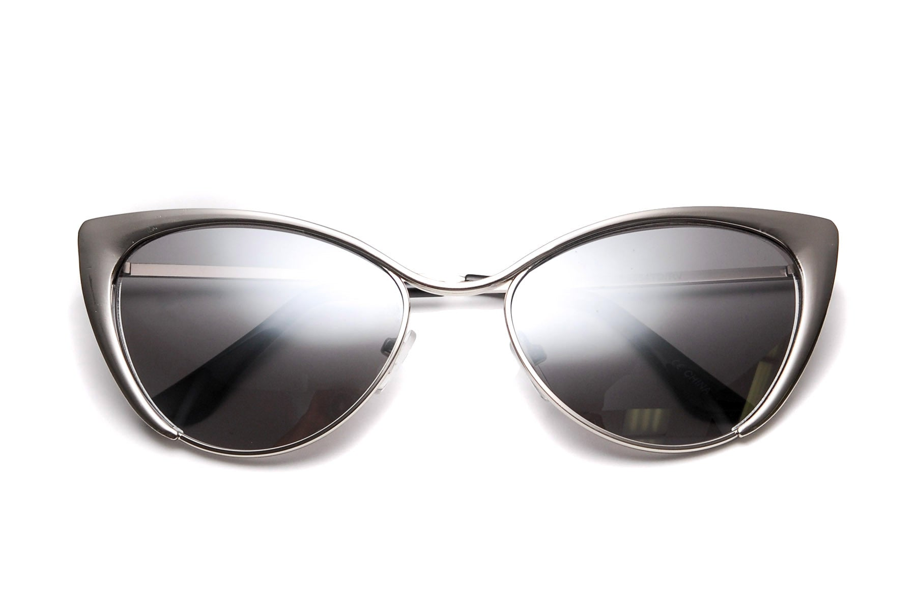 Ashton Strikes Revo Mirrored Cat Eye Sunglasses