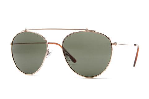 Kiersten Metal Framed Aviator Sunglasses