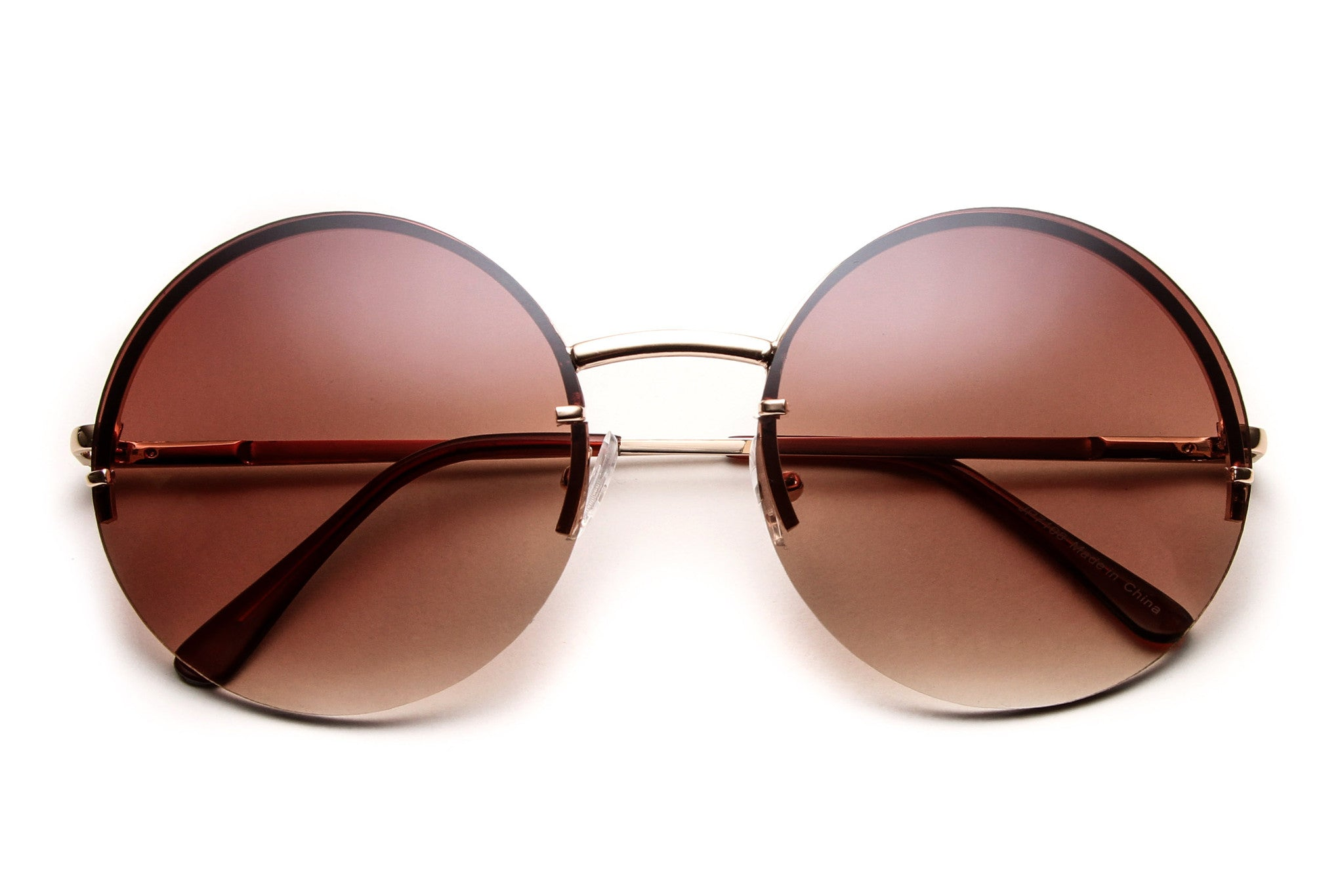 Jordon Colored Hippie Style Lens Sunglasses