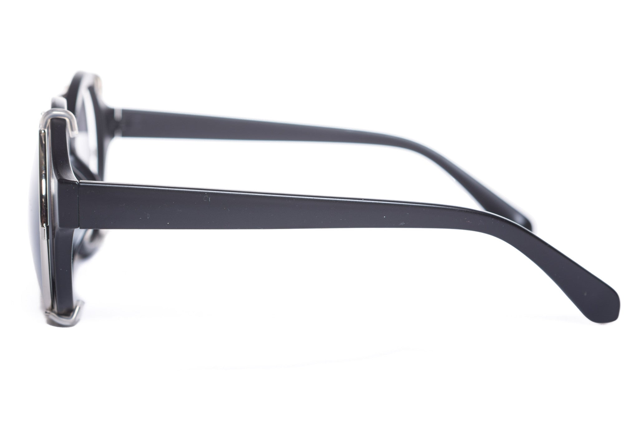 Silas Round Clip On Sunglasses