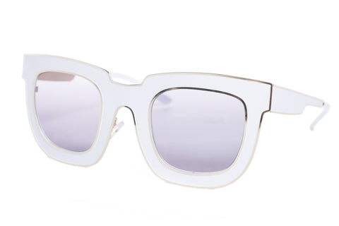 Atticus Pointer Metal Sunglasses