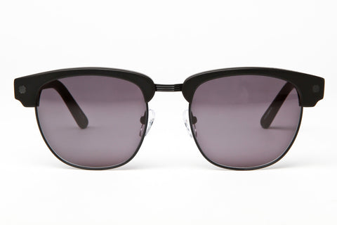 Vacation Sunglasses (Matte Black/Black Metal Grey)