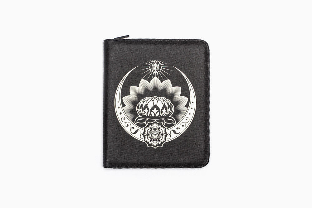 Shepard Fairey Coated Canvas iPad 3rd Gen Portfolio (More Colors)