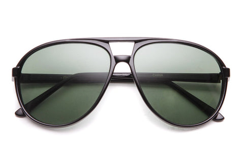 Octagonal Wide Frame Sunglasses