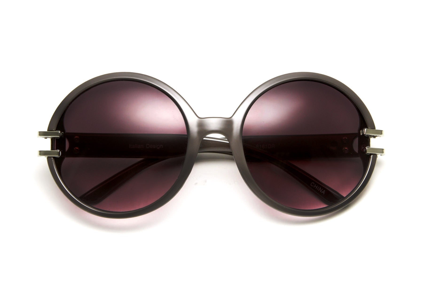 Burlesque Round Chic Vintage Sunglasses