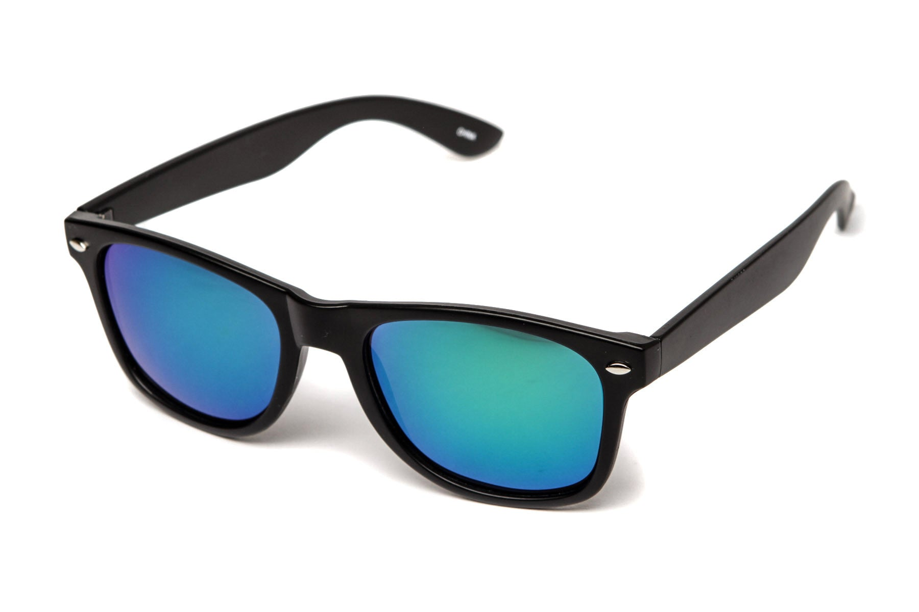 Revo Colored Mirror Wayfarer Sunglasses