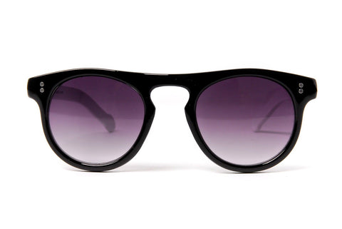 Oversized Round Reflective Sunglasses