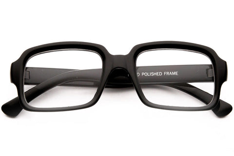 Morato Squared Shaped Clear Lens Glasses