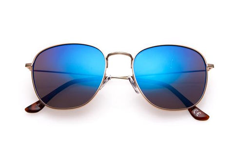 Jade Round Metal Sunglasses