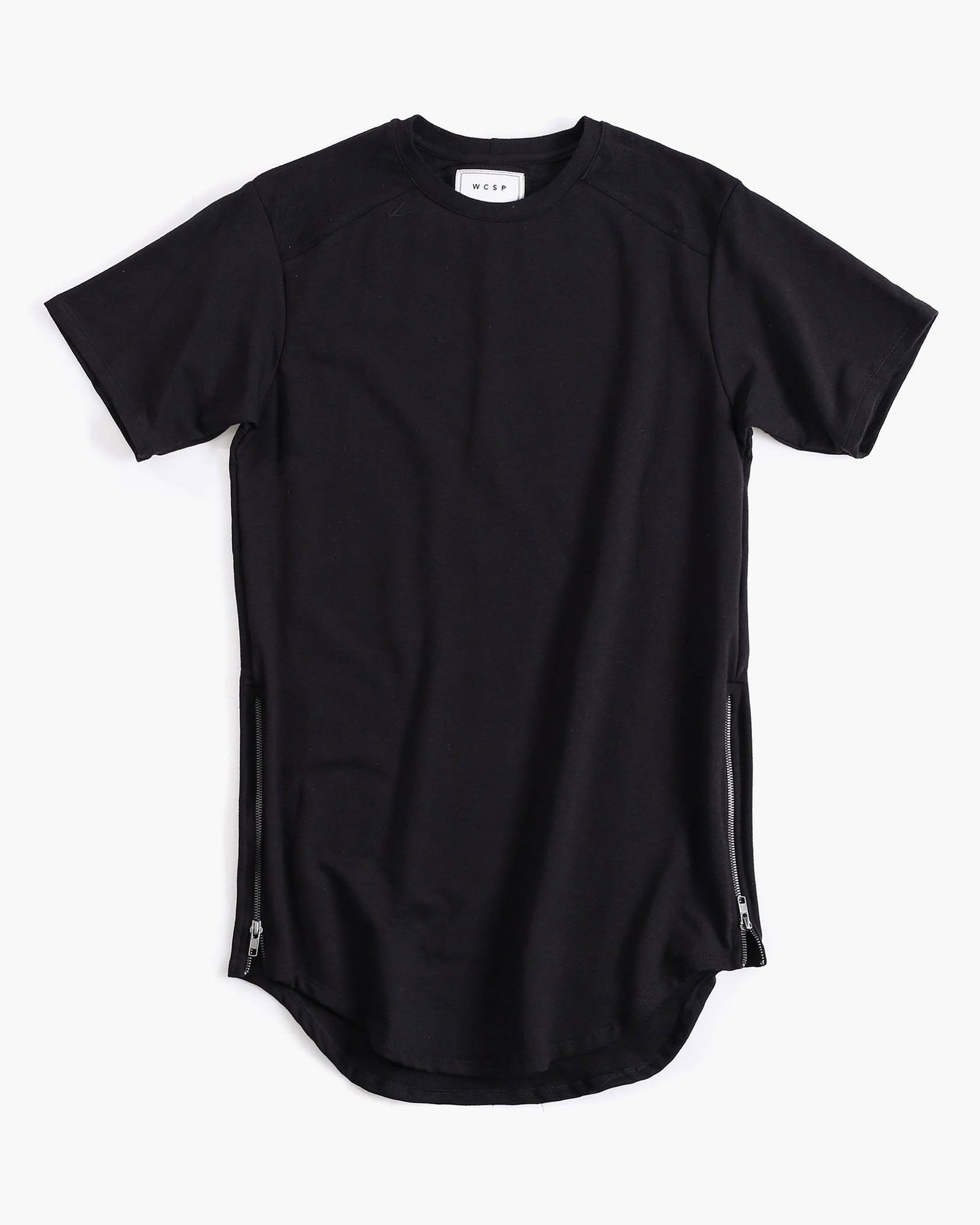 Vincente French Terry Scoop Neck Tee