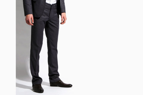 Men's Suit 'The Finest' Light Slim Fit Pant (Overcast Blue)