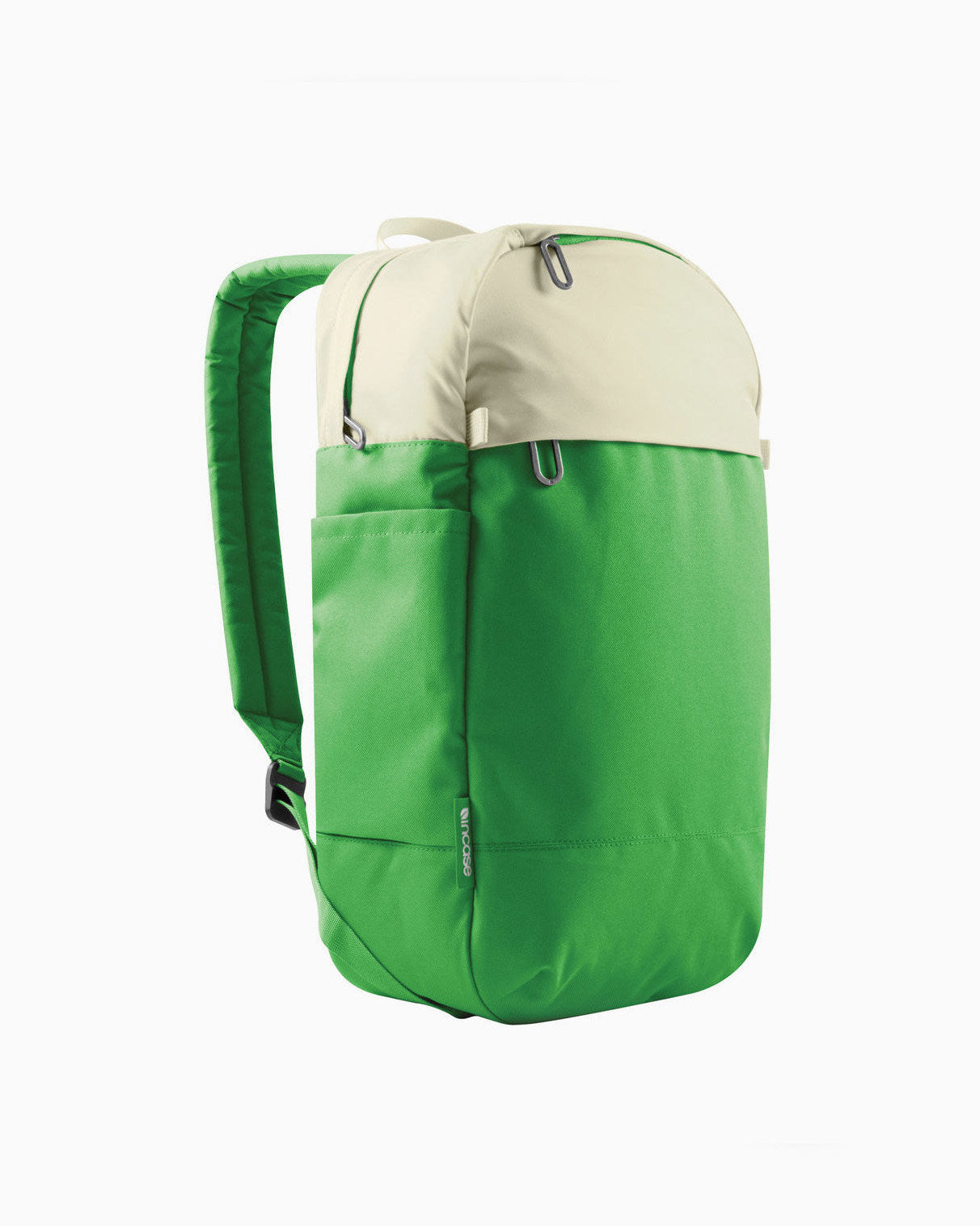 Compact Backpack (Off White/Kelley Green)