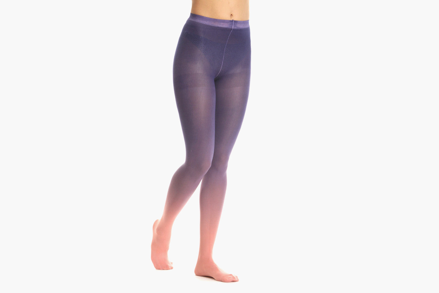 Women's Sky Ombre Tights (Pink/Purple)