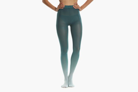 Women's Mermaid Ombre Tights (Blue)