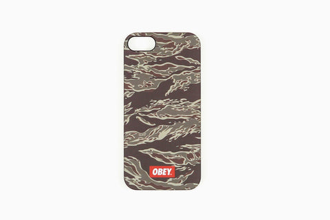 Men's Quality Dissent iPhone Case (Tiger Camo)