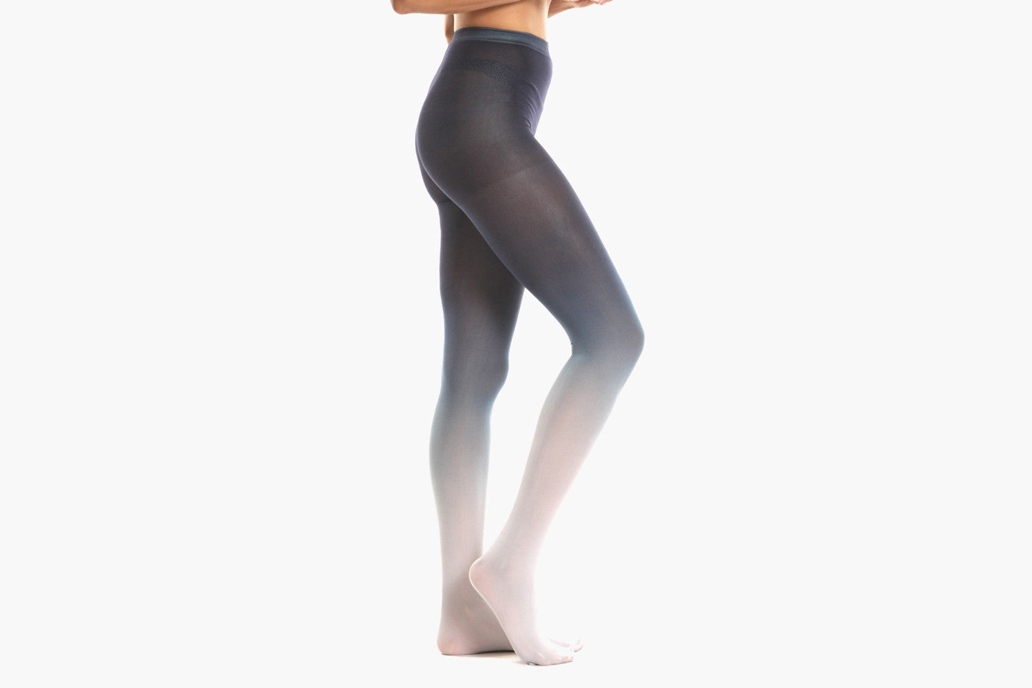 Women's Ombre Tights (Navy)