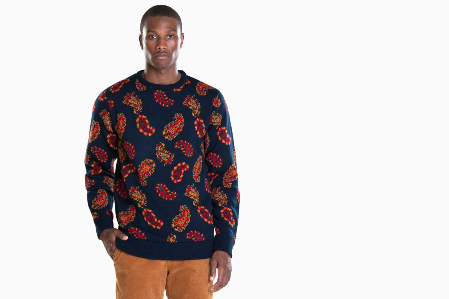 Men's Cliff Sweater (Dark Navy)