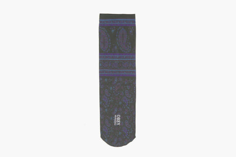 Antalya Socks (Graphite Paisley)