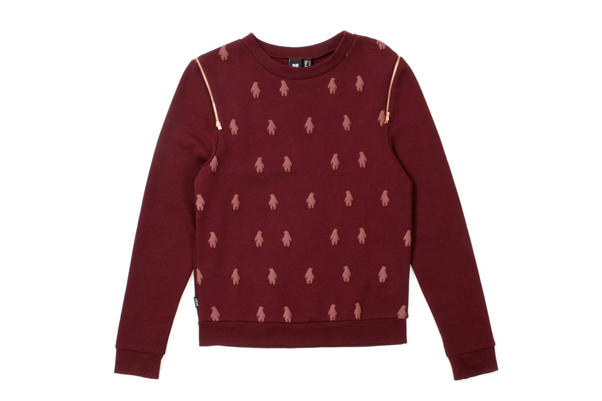 Women's Nowhere Fleece Sweater (Evil Cherry)