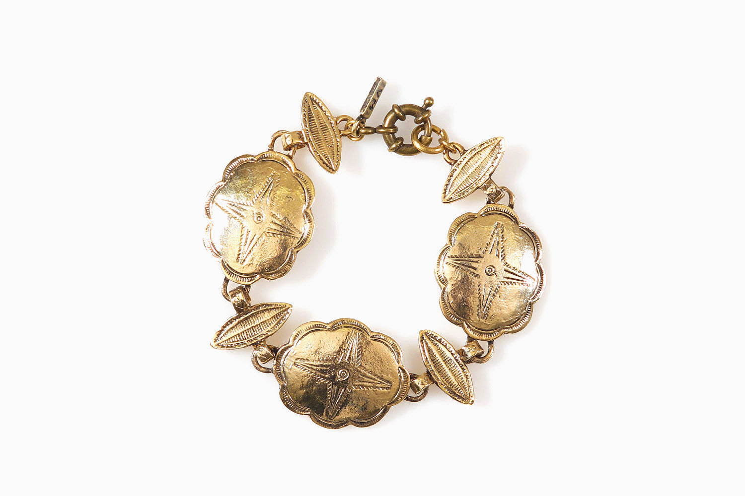 Vanessa Mooney - Wherever You Wander Bracelet (Gold)