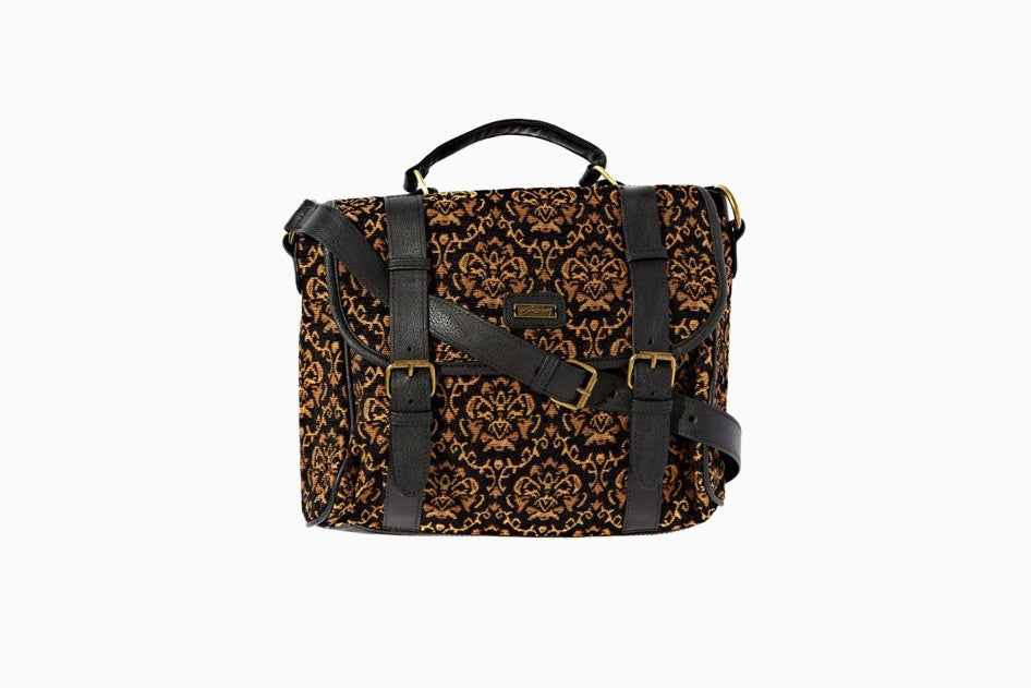 Tapestry Satchel (Black)